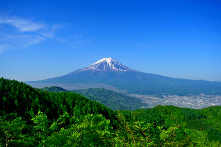 Mount Fuji from Mountain