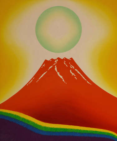 A mt. fuji illustration