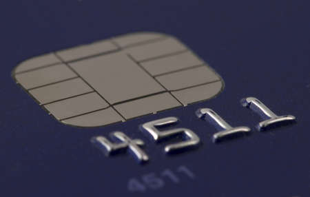 Credit card chip Stock Photo - 276053