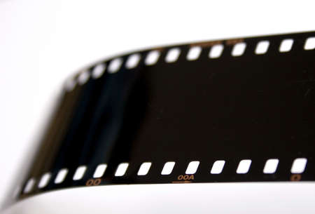 exposed: A strip of exposed, devloped 35mm slide film