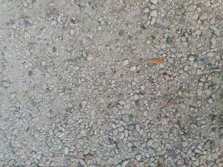 Gravel Texture background.