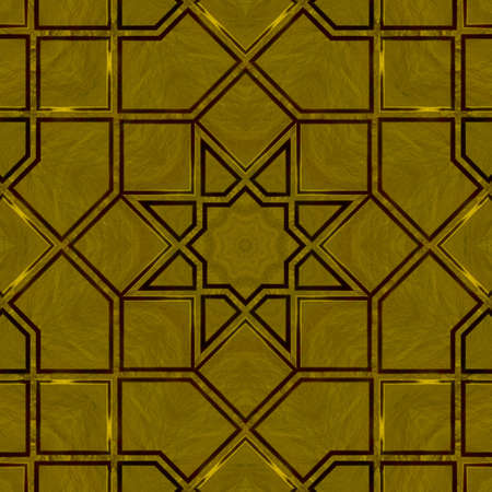 Gold Tile Texture background.