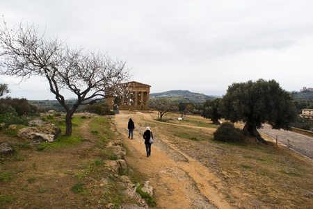 dorian: Valley of the Temples, Agrigento, Sicily, Italy.