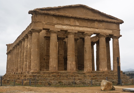 Valley of the Temples, Agrigento, Sicily, Italy. Stock Photo - 13931544
