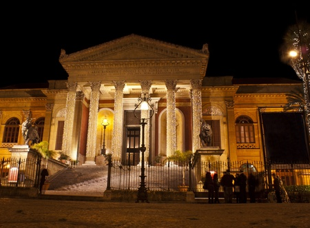 The Teatro Massimo Vittorio Emanuele is an opera house and opera company located on the Piazza Verdi in Palermo, Sicily. It was dedicated to King Victor Emanuel II. It is the biggest in Italy, and one of the largest of Europe,renowned for its perfect acou
