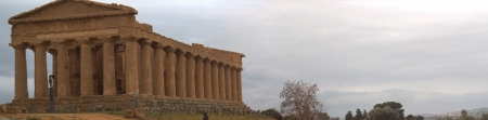 valley of the temples: Concord Temple. Valley of temples of Agrigento. Sicily
