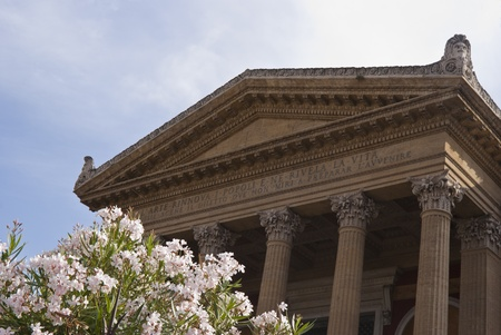 The Teatro Massimo Vittorio Emanuele is an opera house and opera company located on the Piazza Verdi in Palermo, Sicily. It was dedicated to King Victor Emanuel II.