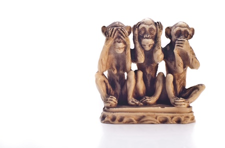 three animals: Three wise monkeys- code of silence