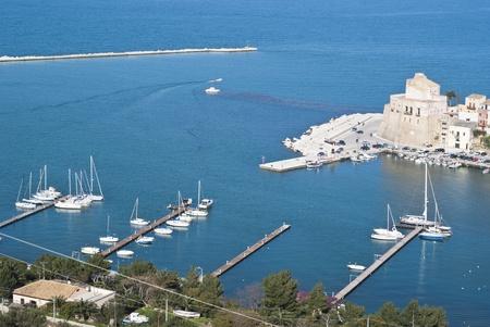 castellammare del golfo: The town of Castellammare del Golfo in the province of Trapani, Sicily, Italy