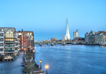 London cityscape with the Shard, LONDON, England, UK photo