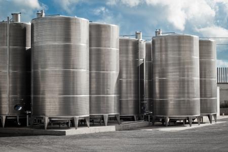 big bin: industrial silos