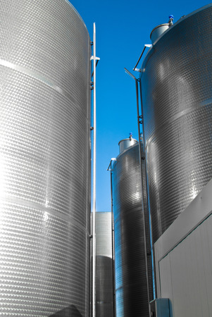 industrial silos. outdoor photo