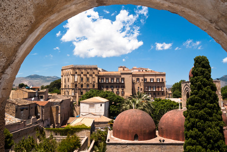 Palermo with panoramic views of the Norman palace and San Giovanni Eremiti domes