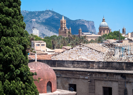 hermits: Palermo with panoramic views of the Cathedral and Hermits dome