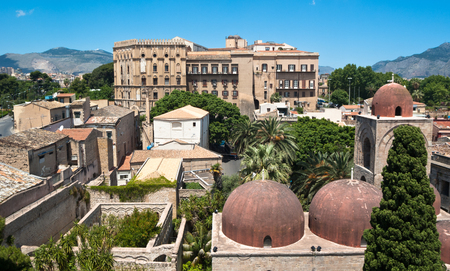 norman castle: Palermo with panoramic views of the Norman palace and San Giovanni Eremiti domes