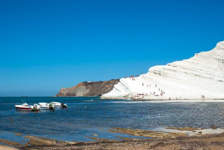 scala: Scala dei Turchi beach.Agrigento-Sicily-Italy