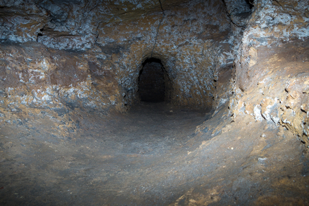 catacomb: Catacombe Paleocristiane di Porta dOssuna in Palermo, Sicily, Italy