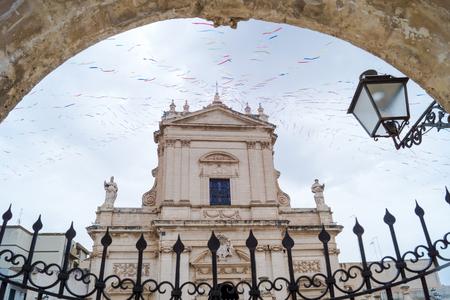 ragusa: Santa Maria Maggiore church in Ispica, Ragusa, Sicily