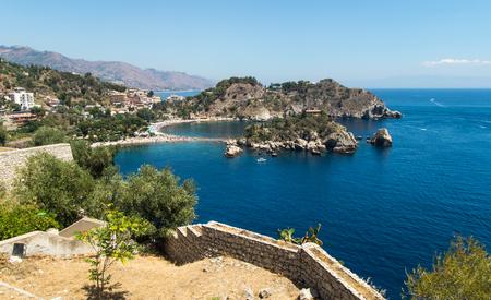 bella: Isola Bella beach, Taormina, Sicily, Italy