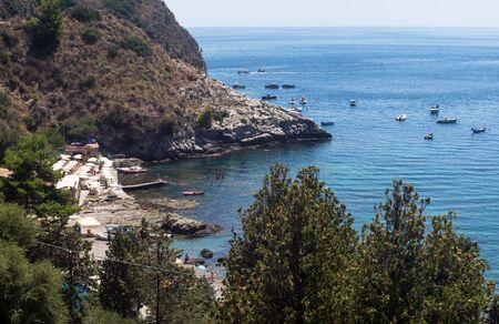 isola: Isola Bella beach, Taormina, Sicily, Italy