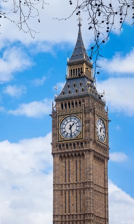 Big Ben; Westminster; London; England; UK Stock Photo