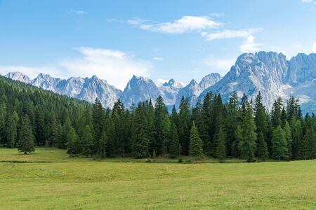 Auronzo mountain Dolomites in the north east of Italy