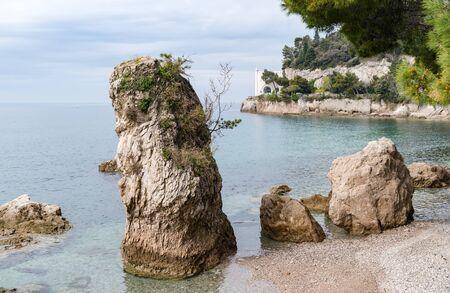 Miramare castle near Trieste, northeastern Italy, Europe Archivio Fotografico