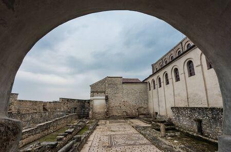 Scenic View of the Euphrasian Basilica (
