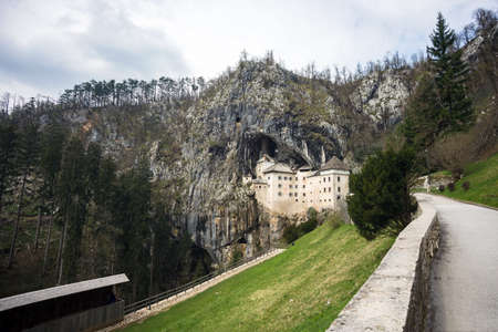 Predjama Castle, situated in the middle of a cliff near Postojna Cave, is the largest cave castle in the world Editoriali