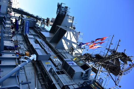 San Diego, California - USA - Dec 04,2016 - USS Midway Museum