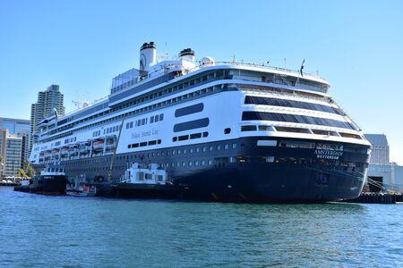 californian: San Diego, California - USA - Cruise in San Diego Harbor Editorial