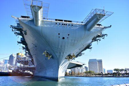 San Diego, California - USA - December 04, 2016: USS Midway Aircraft Museum