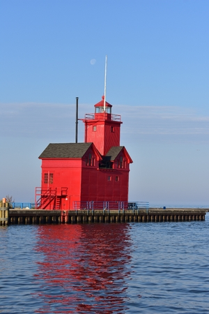 Lighthouse at Holland State Park