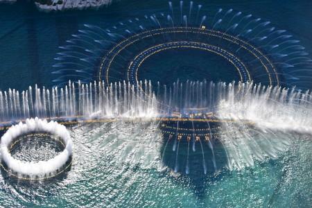 Las Vegas, Nevada - USA - June 05,2017 - Bellagio Water Show Las Vegas Editorial