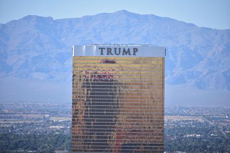 Las Vegas, Nevada - USA - June 05,2017 - Trump Las Vegas Editorial