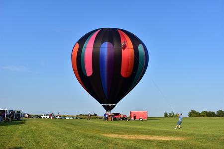 Lincoln, Illinois - USA - 25 août 2017: Illinois Balloon Festival Banque d'images - 85301715