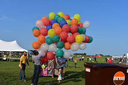 Lincoln, Illinois - USA - August 25, 2017: Air Balloon 2017 Editorial