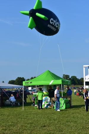 Lincoln, Illinois - USA - August 25, 2017: Balloon Festival Editorial