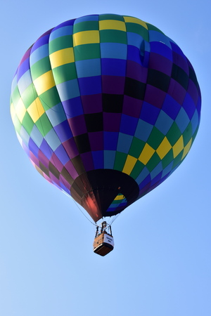 Lincoln, Illinois - USA - August 25, 2017: Air Balloons Starting to Fly