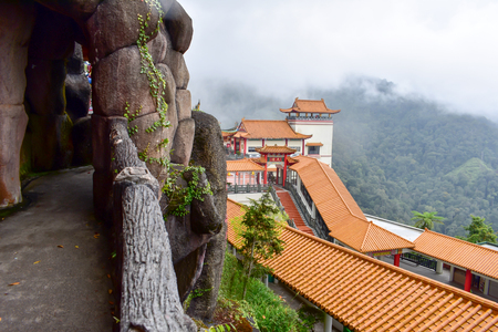 Genting Highlands, Malaysia - November 2, 2017: The Chin Swee Caves Temple