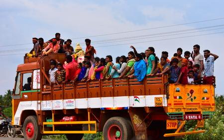 Anaipatti, Tamilnadu - India - September 15 2018: Vinayagar Chaturthi