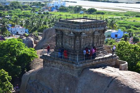 Chennai, Tamilnadu - India - September 09, 2018: View from Mahaballipuram Lighthouse