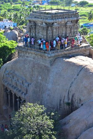 Chennai, Tamilnadu - India - September 09, 2018: Mahishasuramardhini Mandapa