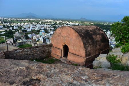 Namakkal, Tamilnadu - India - October 17, 2018: Namakkal Malakkottai