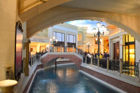 Las Vegas, Nevada, USA - January 23, 2016: The Venetian Las Vegas Editorial