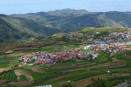 Poombarai village in Kodaikanal