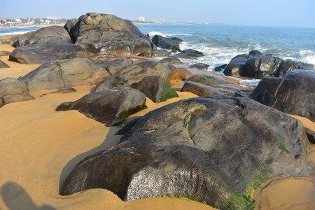 Chennai, Tamilnadu, India: Febrauary 15, 2019 - Covelong Beach