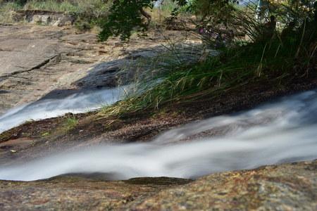 Kumbakkarai Water Falls - The Pambar river
