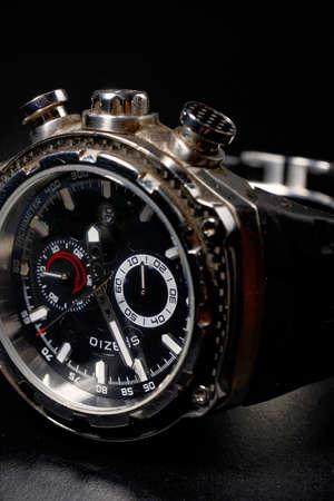 cronógrafo: Reloj del hombre de estilo moderno