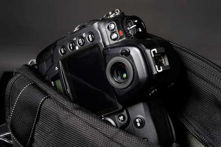 accesorios de viaje modernas con cámara digital de bolsillo